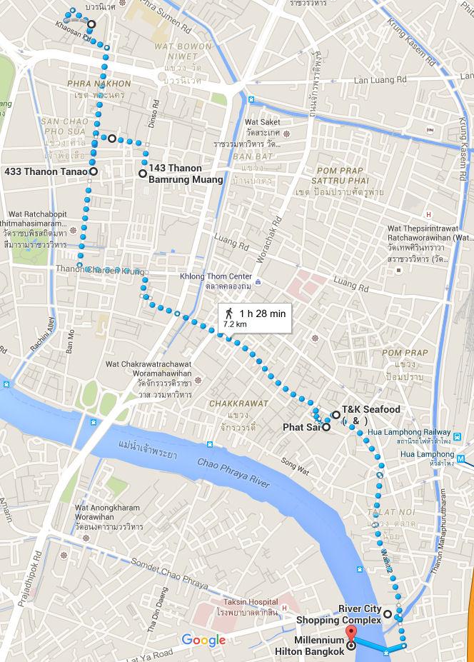 Bangkok 3.5 days itinerary