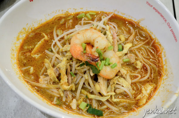 Sarawak Laksa is better in my opinion than the coconut laden ones
