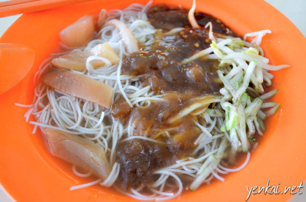 Belacan Bee Hoon. Too sweet and watery. Not my cup of tea.