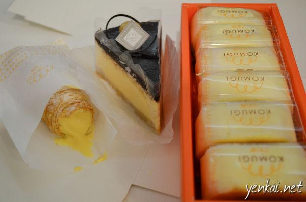 Krone, Cheesecake with Ganache and Hanjuku Cheesecake