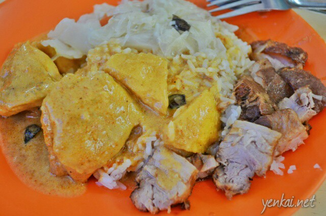 True Singapore Food: Hainanese curry rice