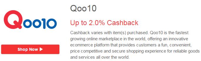 Qoo10 ♥ Shopback