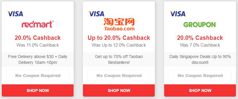 Visa ♥ Shopback
