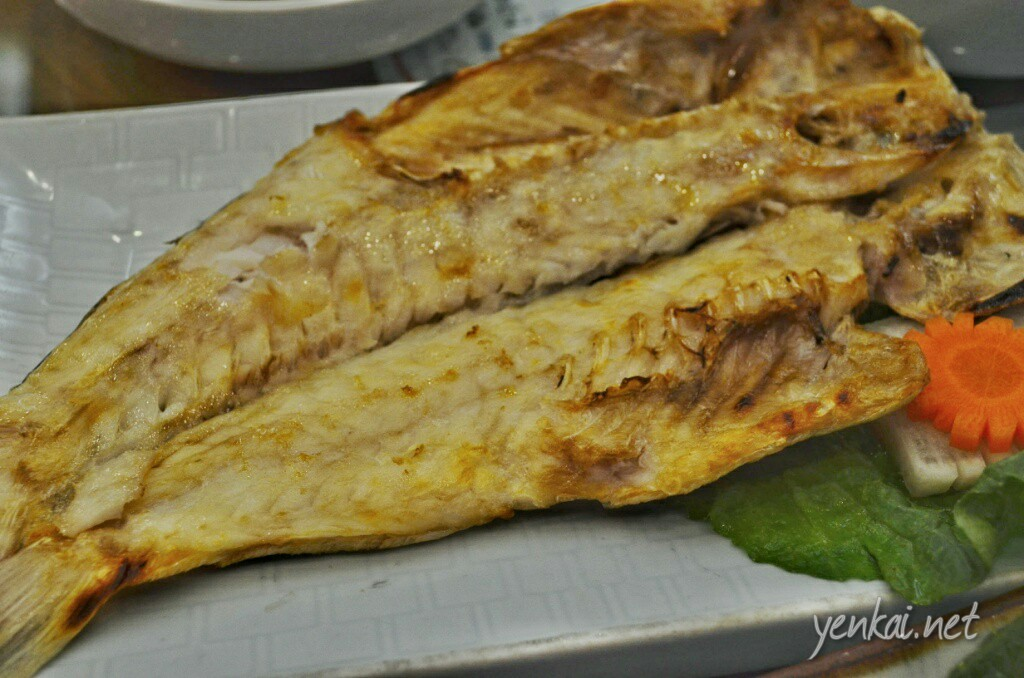 Grilled Okdom or Tile fish. Very tender.