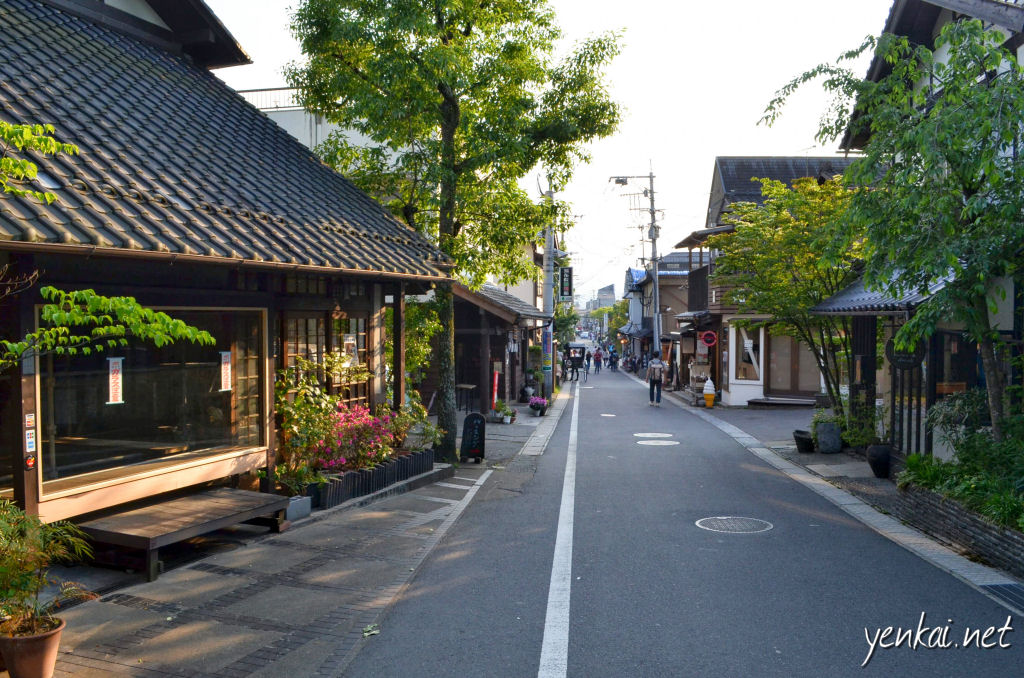 By 5pm, Yufuin becomes quite deserted, as most tourists only come here as a day trip