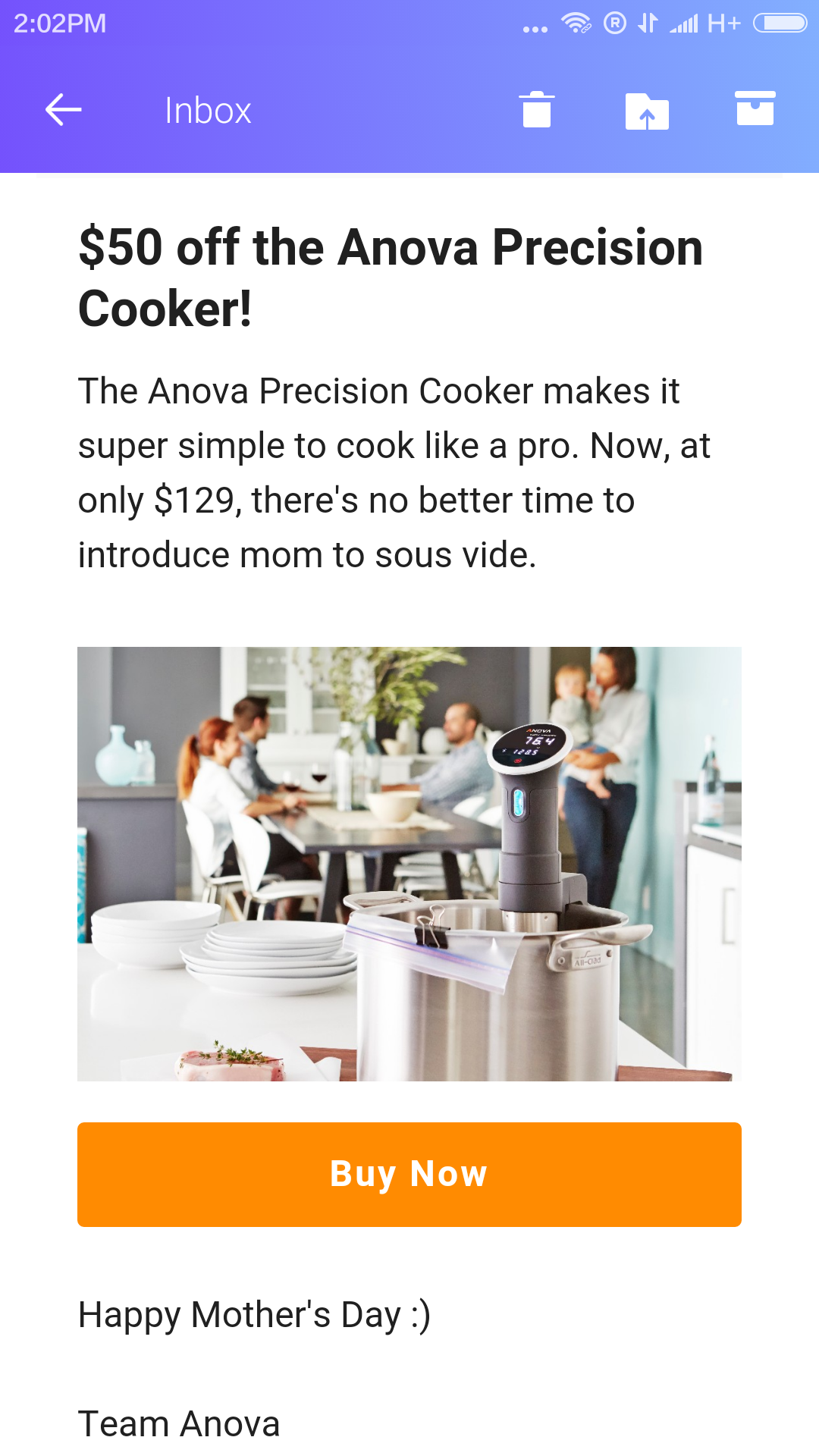 Best time yet to get the Anova Precision Cooker