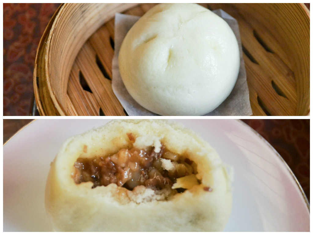 Chinese 'bao' normally come with pork filling, but this one comes with Wagyu beef