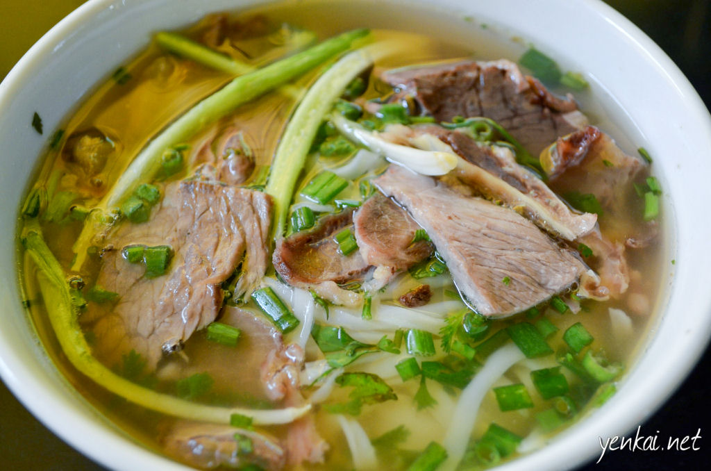 Pho. The very first bowl i have sampled inside Vietnam (those in the airport don't count). The best ever.