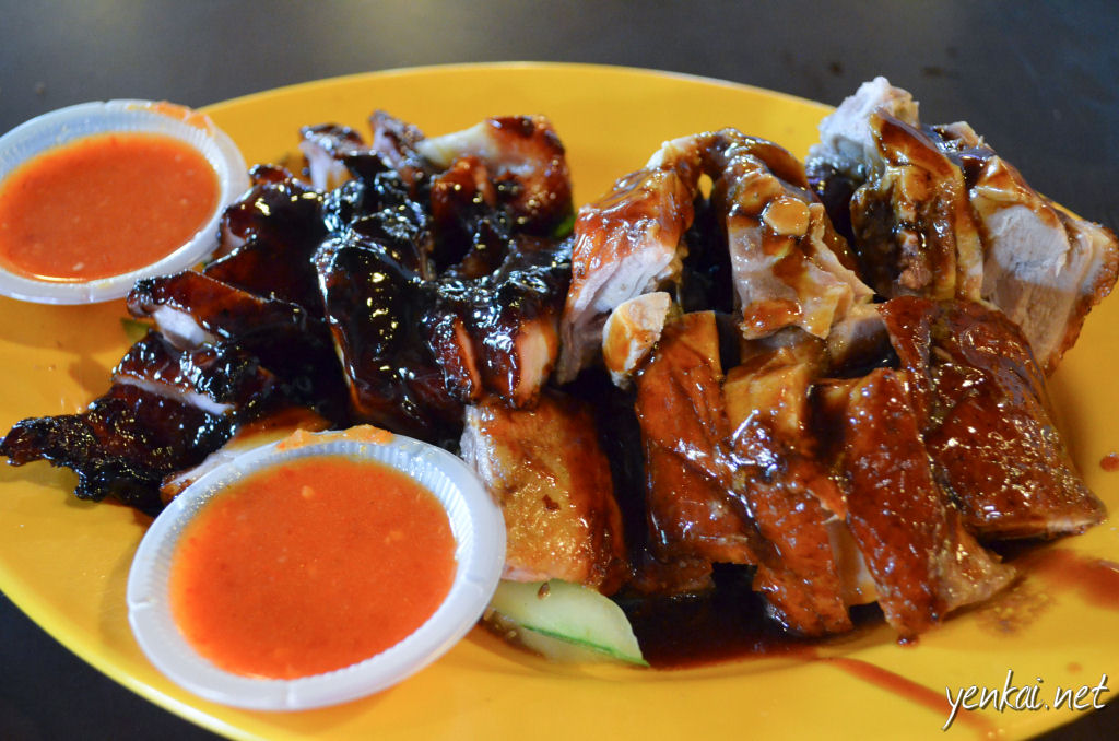 Char Siew and roast duck. The Char Siew was good.
