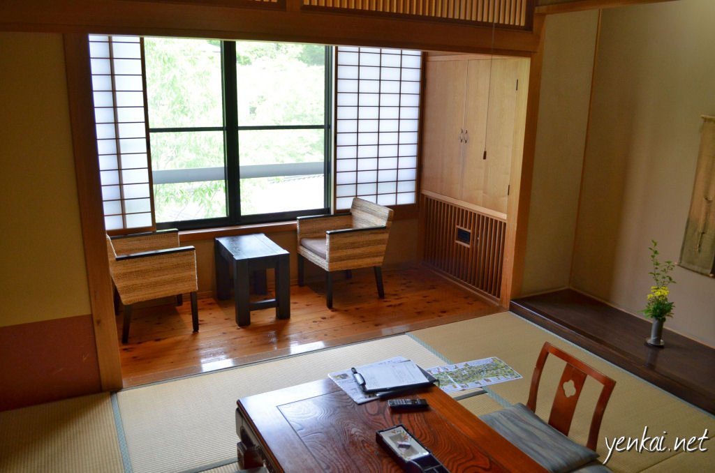 Ryokan Wakaba. It is not cheap staying in any of the Ryokans but the service is truly unrivalled.