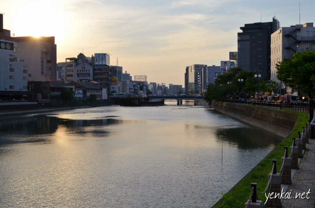 The Yatais along the Naka river were already kicking into action at this time