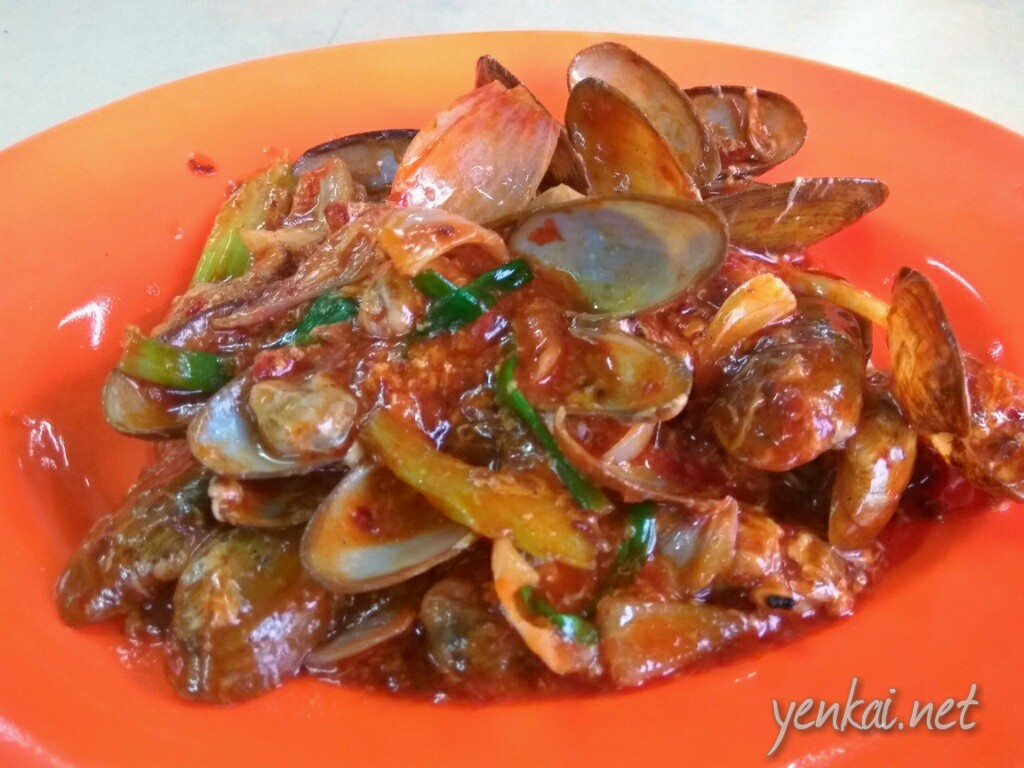 Kam Heong mussels were more like soupy chilli mussels, and it was too sweet