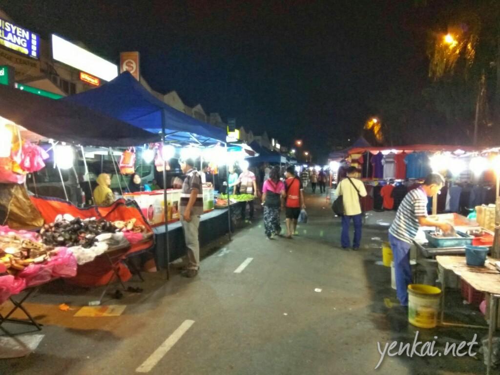 Pasar Malam at Gelang Patah
