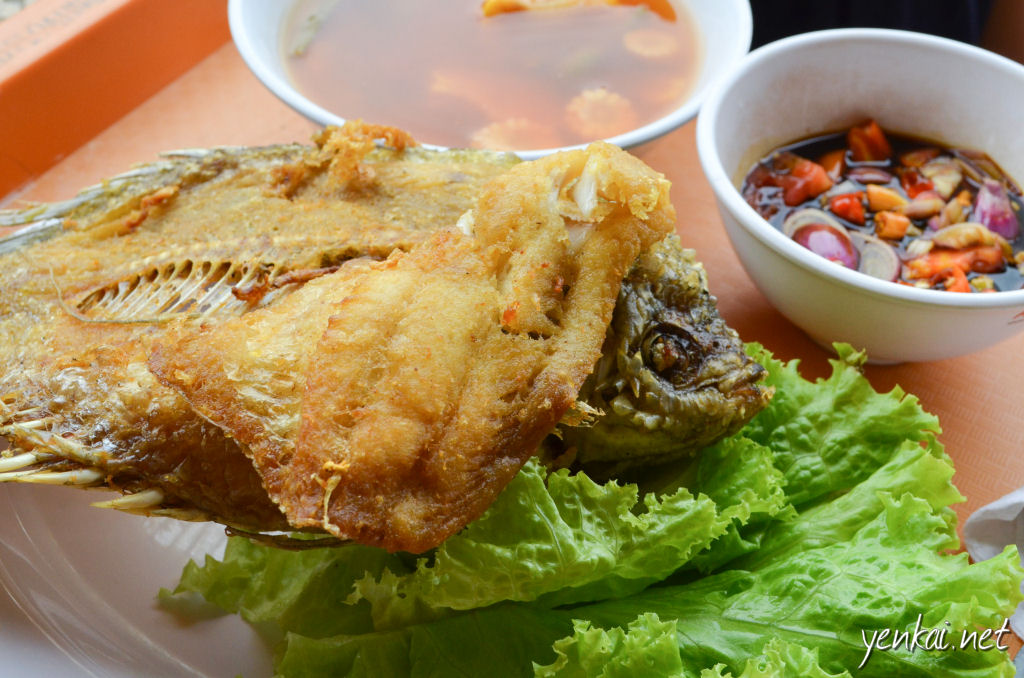Fried Gurame, a must-have-at-least-once when in Indonesia