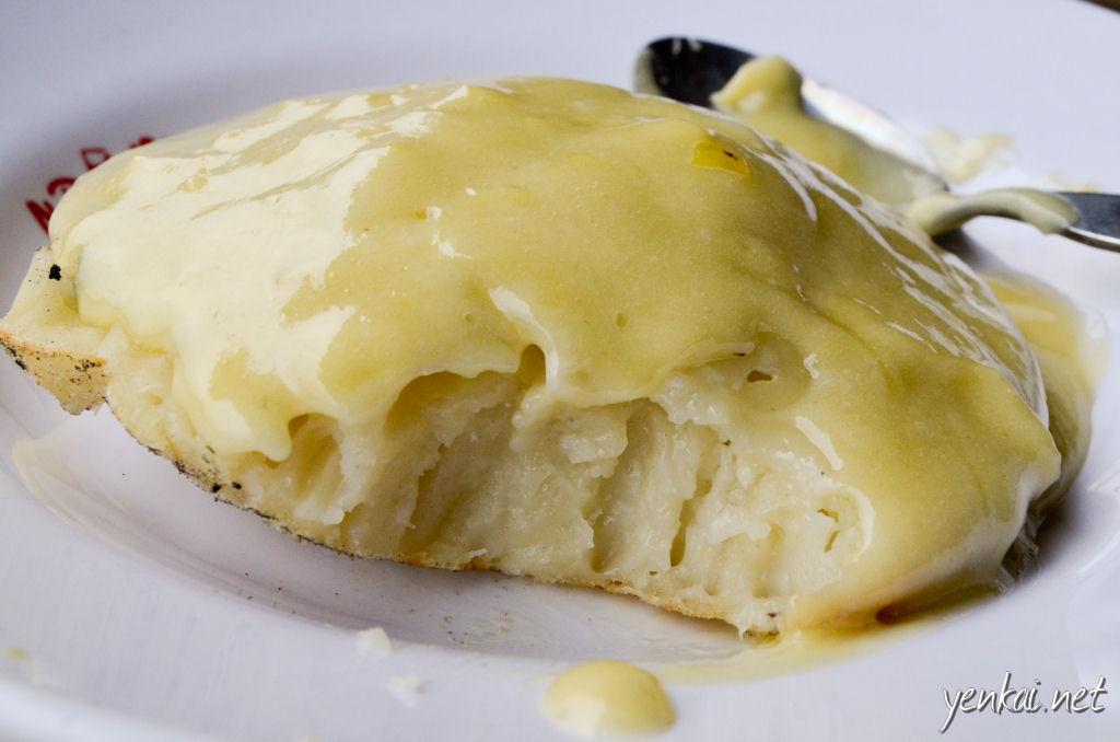 Serabi Duren was a nice dessert. Made of flour and coconut milk.