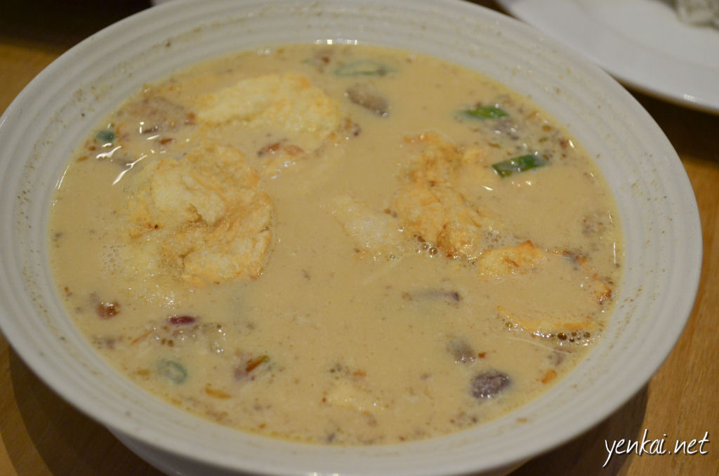 Soto Betawi (Jakarta style beef soup)