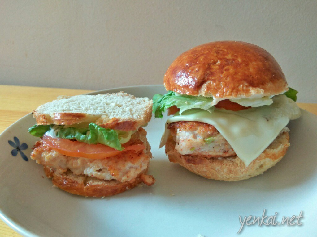 Breakfast chronicles – chicken burger