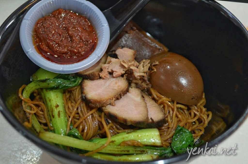 Braised pork noodles, quite tasty