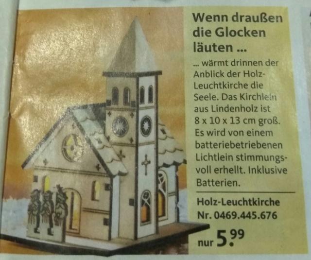 True German style Christmas ornament