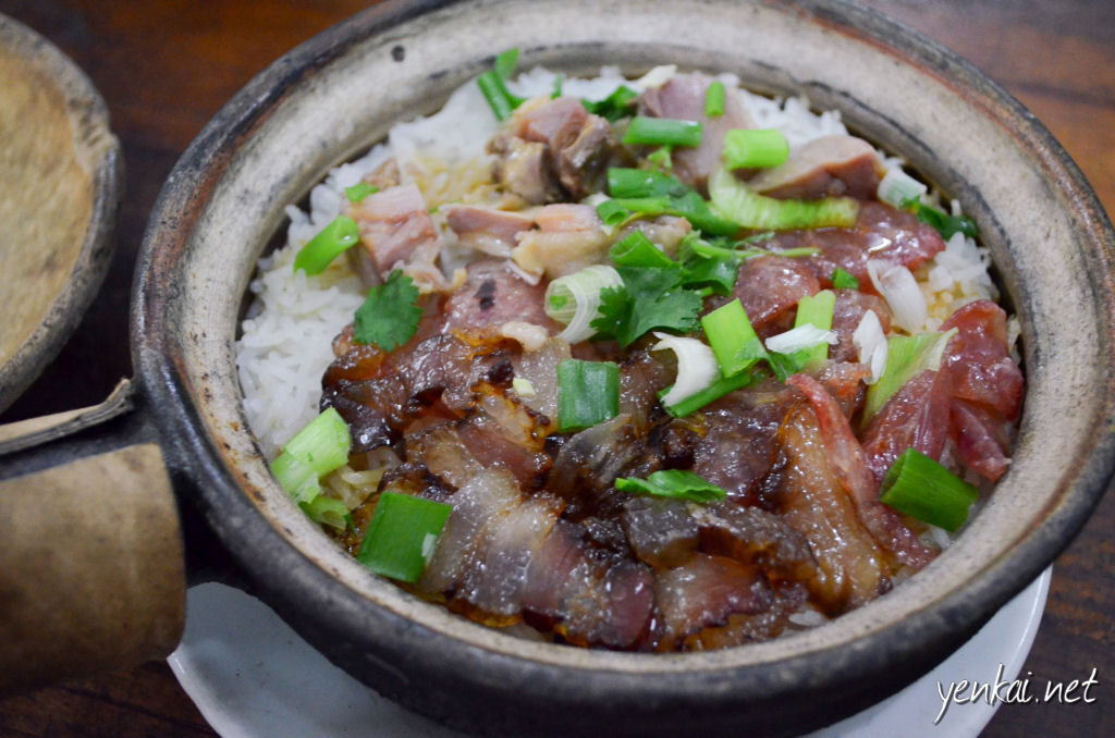 Three types cured meat (三腊饭), one of the best of its kind I have tasted