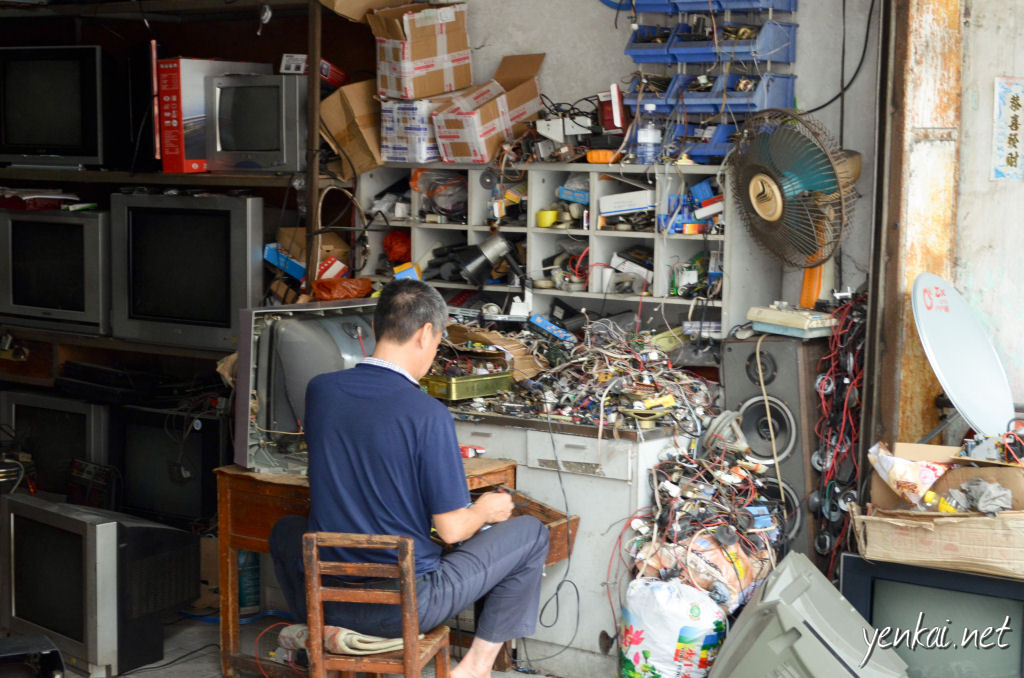 CRT TVs are still worth repairing in this part of the world