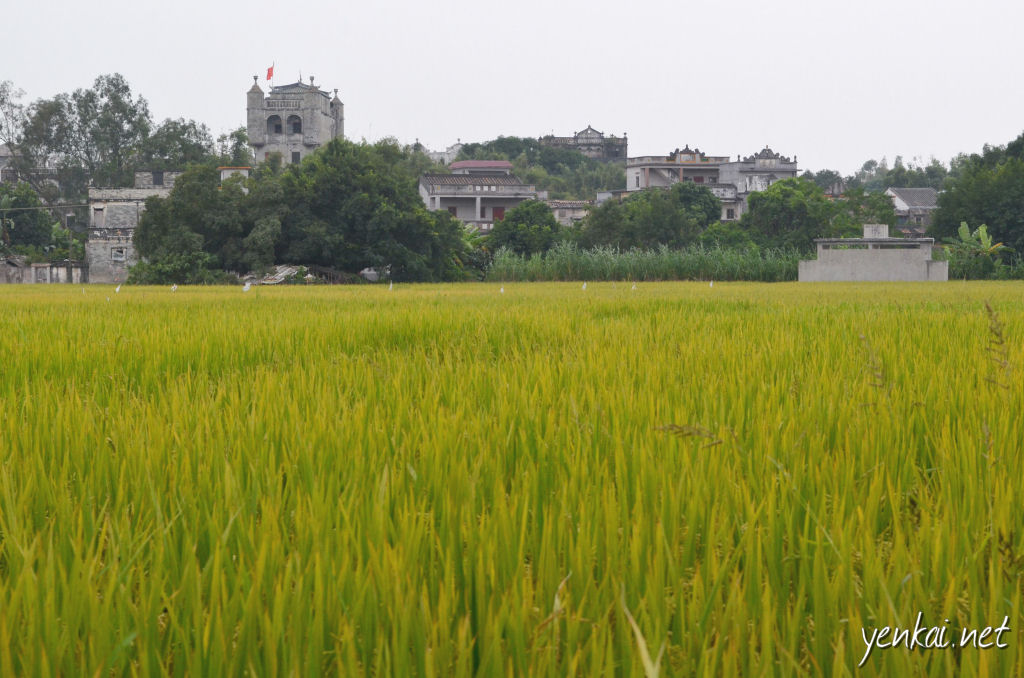 A fortress like building near the car park that is not part of the Zili village designated attraction