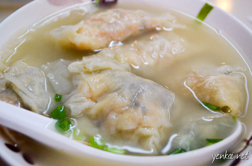 We added on dumpling in soup (净水饺) as we found the food to be pretty good here!