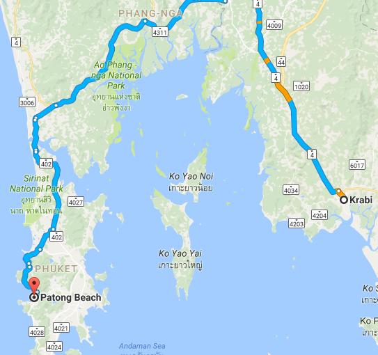 Krabi and Phuket 4 days itinerary
