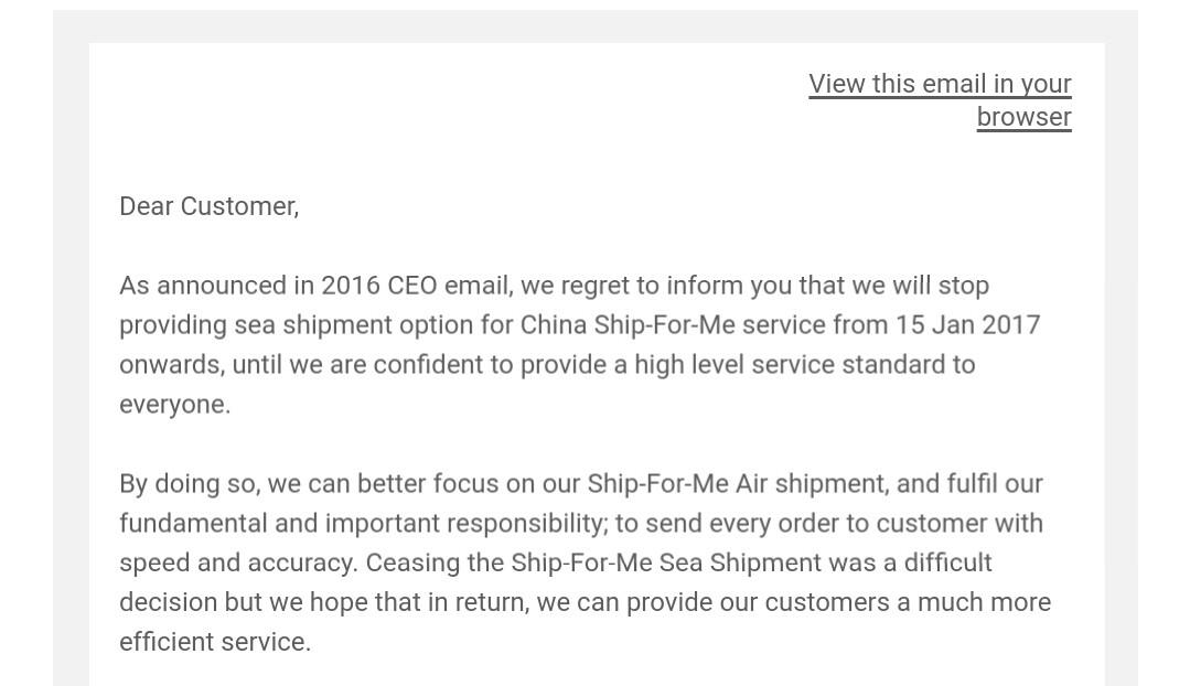 READ THIS! Important tip on ezbuy (65daigou) sea freight
