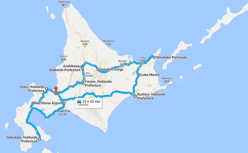 Hokkaido 9 days itinerary