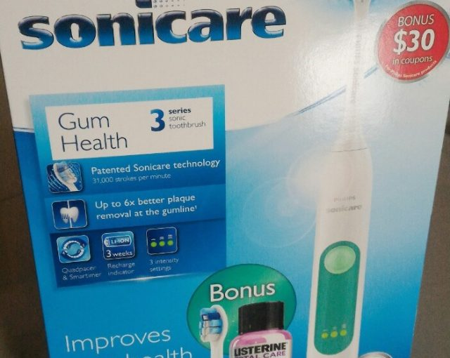 Amazon product recommendation – Philips Sonicare 3 Series