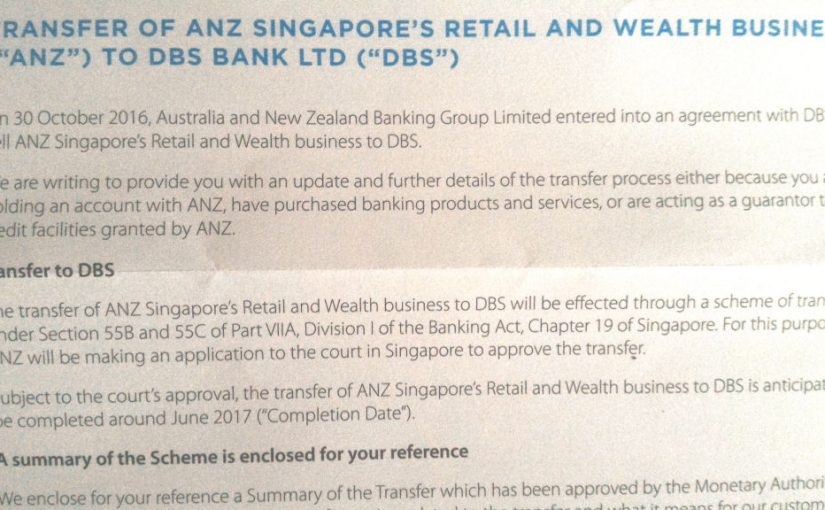 The end of ANZ Optimum Credit Card is in sight