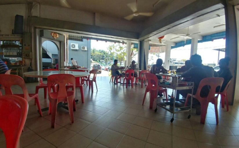 North-South highway lunch stop – Bukit Gambir