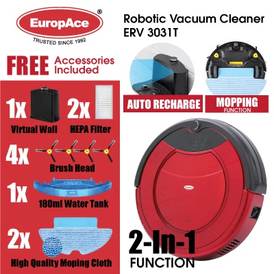 Qoo10 product recommendation – EuropAce robotic vacuum cleaner