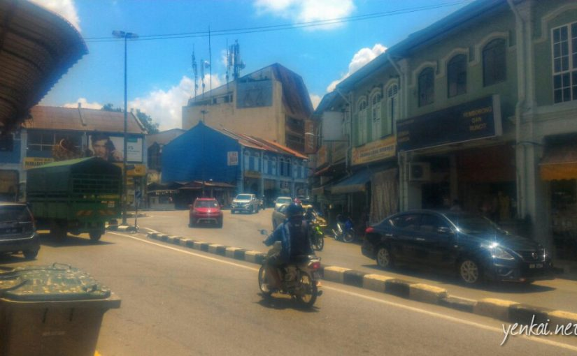 North-South highway lunch stop – Jasin