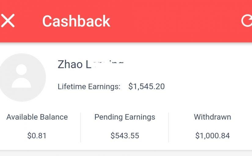 Shopback $1000 milestone