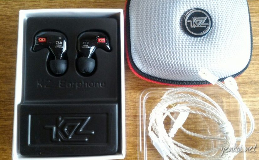 Taobao product recommendation – KZ ZSR earphones