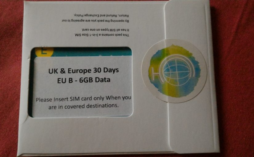Qoo10 product recommendation – Europe prepaid data SIM